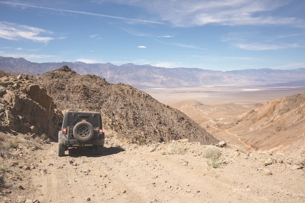 Death Valley Camping - Reise